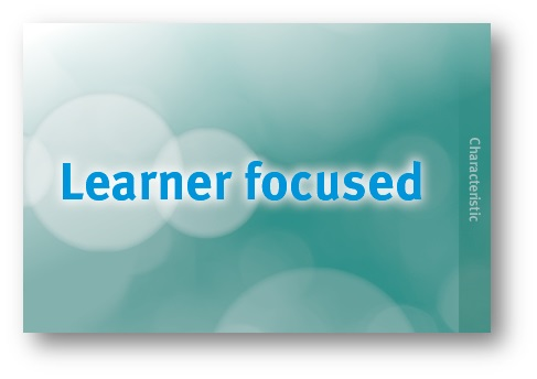 Learner focused